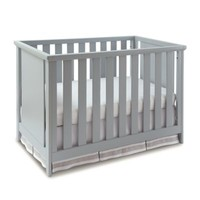 Imagio Baby by Westwood Design Casey 3-in-1 Convertible Crib and Changing Table Set in Grey