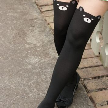 Black Bear Tights