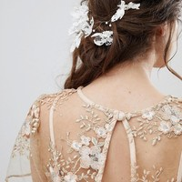 ASOS DESIGN bridal lace back hair wire at asos.com