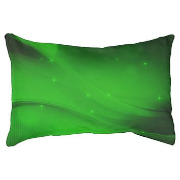 Emerald Wave Dog Bed