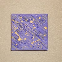 Abstract Painting Purple and Gold by Acires on Etsy