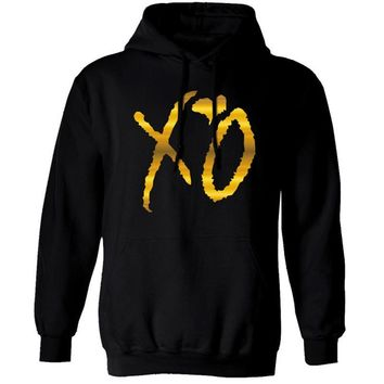 Hot High Quality Autumn Winter Owl Drake Ovoxo Xo Weeknd Crewneck Hooded Sweatshirt Hoodie For Men Free Shipping