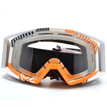 BJGLOBAL Motocross Goggles Motorcycle Goggles Glasses ATV Clear Lens Ski Helmet Googles Off-road For Dirtbike motorcycle helmet