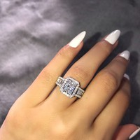 Iconic Allure Sterling Silver Ring – Phantom Jewels