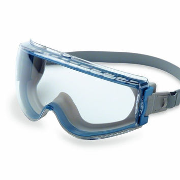 Uvex Stealth Safety Goggles with Uvextreme Anti-Fog Coating & Neoprene Headba...