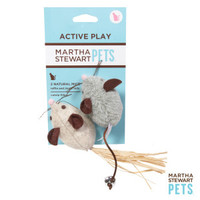 Martha Stewart 2 Pack Naturals Mice Cat Toys