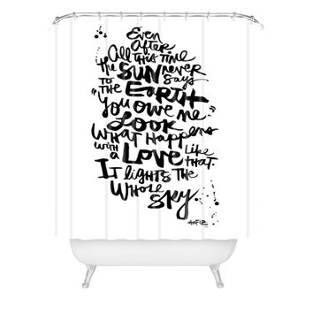 Kal Barteski Even After All 1 Shower Curtain