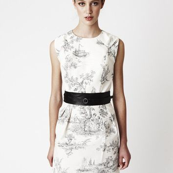 Toile Ivy Dress Above knee by threelittleducksaust