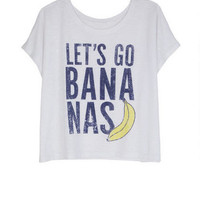 Let's Go Bananas Tee
