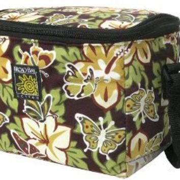 BUTTERFLIES Lunch Box Cooler Insulated Butterfly Bag- No Lead-Free Lunchbox