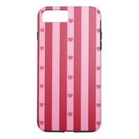 Pink Hearts iPhone 8 Plus/7 Plus Case