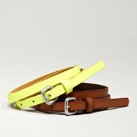 AEO Skinny Belt Set | American Eagle Outfitters