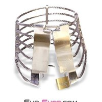Wired for Love Locking Steel Cable Collar