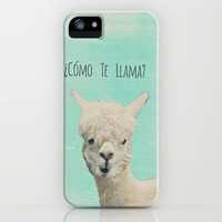 Lama iPhone & iPod Case by Monika Strigel