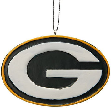 Green Bay Packers Official NFL Resin Logo Ornament