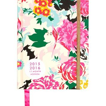 ban.do 'Classic - Florabunda' Hardcover17-Month Agenda - White