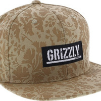 Grizzly Springfield Camo Hat Adjustable Khaki Camo