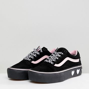 Vans X Lazy Oaf Old Skool Sneakers at asos.com
