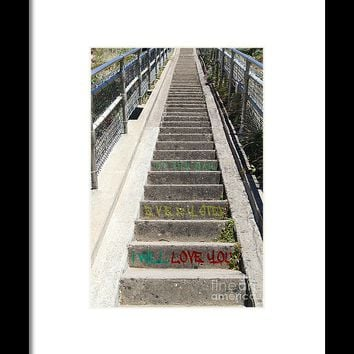 I Will Love You Every Step Of The Way 7d16018 20150918 Framed Print