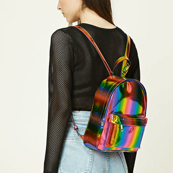 Sheeny Rainbow Backpack