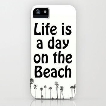 Beach Life iPhone & iPod Case by RichCaspian