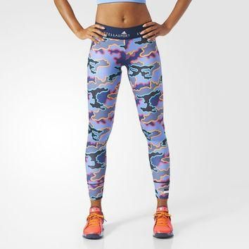 adidas STELLASPORT Camo Tights - Blue | adidas US
