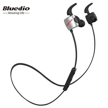 Bluedio TE Sports Bluetooth headset/Wireless headphone in-ear earbuds Built-in Microphone