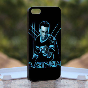Bazinga - Design available for iPhone 4 / 4S and iPhone 5 Case - black, white and clear cases