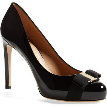 'Pimpa' Patent Leather Pump