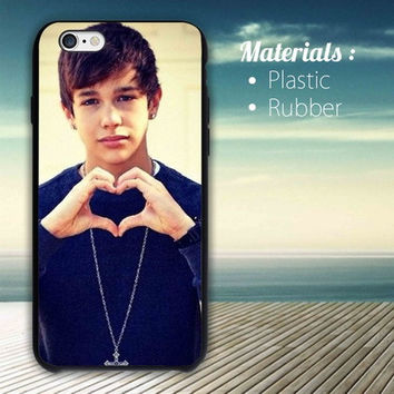 austin mahone love heart iPhone 4/4S, 5/5S, 5C,6,6plus,and Samsung s3,s4,s5,s6