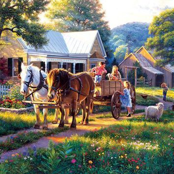Day at the Fair 1000pc Jigsaw Puzzle