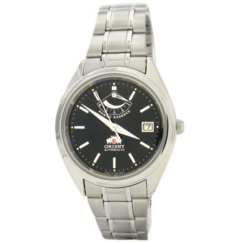 Orient CFD00001B Men's Black Dial Automatic Watch with Power Reserve