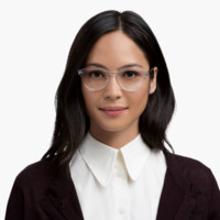Percel Eyeglasses in Oak Barrel for Women | Warby Parker