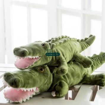 Crocodile Giant Stuffed Animal Plush Toy