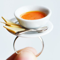Miniature Soup Ring, Tomato