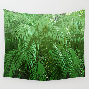Jungle Palms 3 - Wall Tapestry