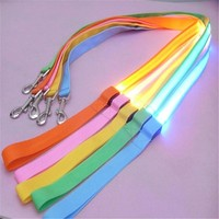 Rainbow LED Leash