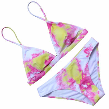OMKAGI Hot Design Brazilian Biquini 2017 Bikini Set Sexy Bandage Swimsuit Push Up Swimwear Women Beach Bathing Suits Maillot De Bain