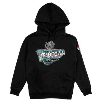 TESD TOWN HOODIE WITH 4 COLOR DEMONS PATCH