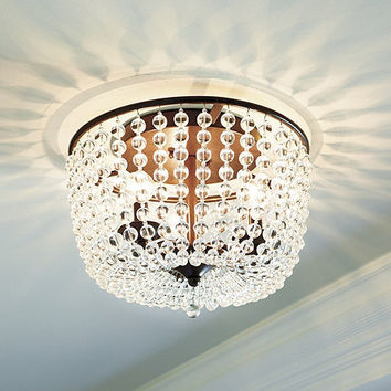 Margeaux Ceiling Mount Chandelier | Ballard Designs