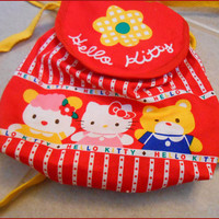 Cute 90's Sanrio Mini Backpack Hello Kitty