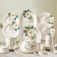 Chinese ceramic dishes servies set borden ceramic dinner set tableware