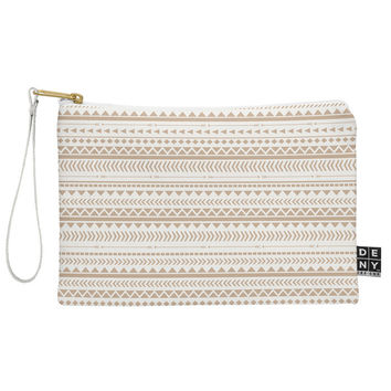 Allyson Johnson Tan Aztec Pouch