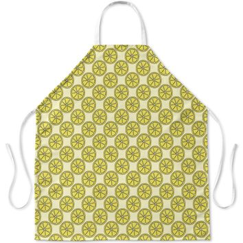 LEMON SLICES PATTERN Apron By Northern Whimsy