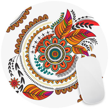 Autumn Mandala Mouse Pad Decal