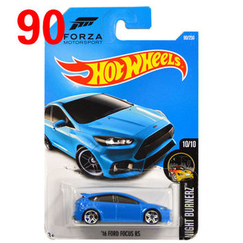 2016 Free Shipping Hot Wheels ford focus rs Car Models Metal Diecast Cars Collection Kids Toys Vehicle For Children