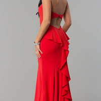 Long Strapless Sweetheart Dress for Prom