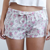 Clustered Rose PJ Shorts