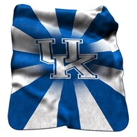 Logo Chair Kentucky Wildcats Raschel Throw Blanket