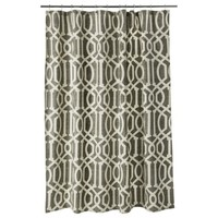 Shower Curtain Threshold Fretwork River Birch